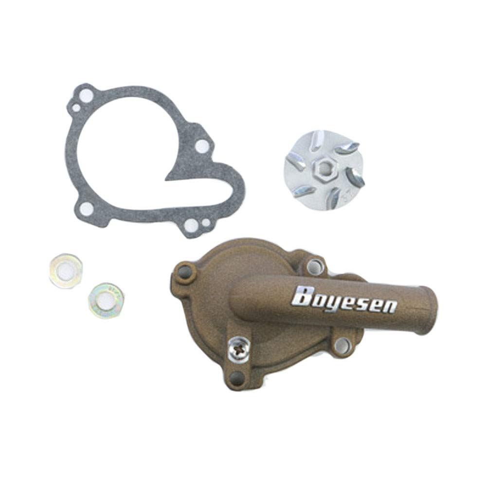 Boyesen Supercooler Water Pump Cover and Impeller Kit Magnesium - Fits: Yamaha YZ250F 2001-2013