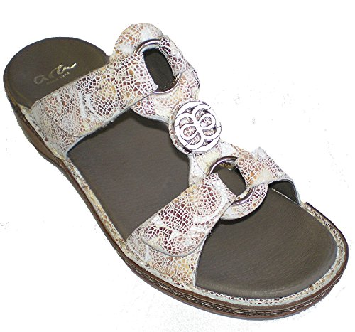 Women's Clogs Mules Leather ara Taupe amp; W86w08Tpq