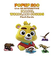 IVIEW-POPUP ZOO Interactive 3D Card Game, Free Educational APP With English/Spanish/Chinese/Korean Languages Included, Compatible for Apple/Android