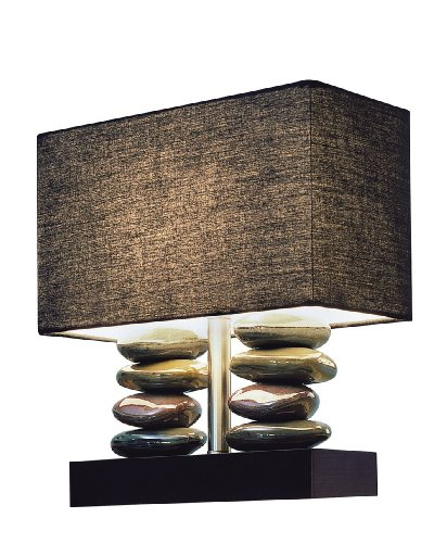 Elegant Designs LT1036 BLK Rectangular Stacked product image