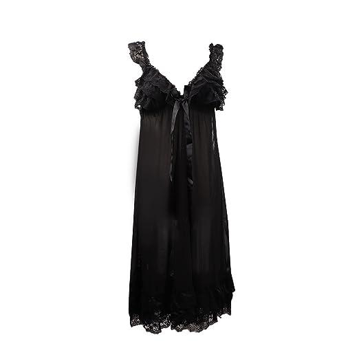 IBLUELOVER Women Girls Bathrobe Sleepwear Nightgown Dress Women Chemise Sleep  Dress Nightdress ebd142c49