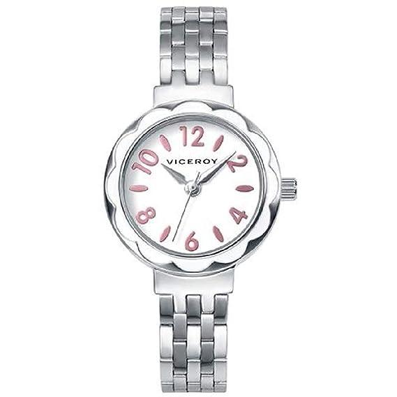 Conjunto Reloj Viceroy Niña Comunión 40878-05 Perlas con Cruz: Amazon.es: Relojes