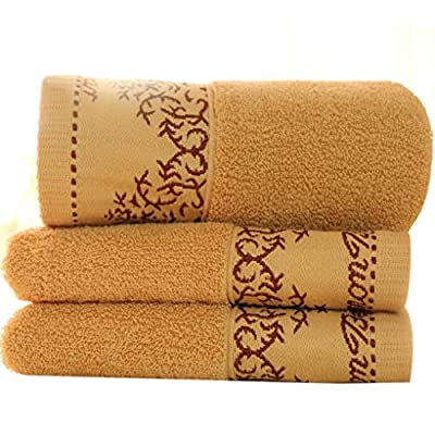 Shower Towel - 34x75cm Towel Absorbent Cotton Quick Drying Bath Washcloth Face Hand Shower - Up Extra Turkish Yellow Boy Scrubber Toddlers Bar Dress Hanger