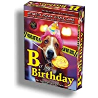 Alphabet Mystery Jigsaw Puzzle - B Is for Birthday