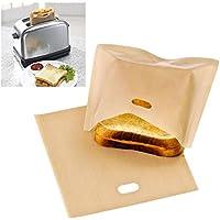Bluelover Bolsas De Tostadora Reutilizable Bolsa Sandwich Antiadherente