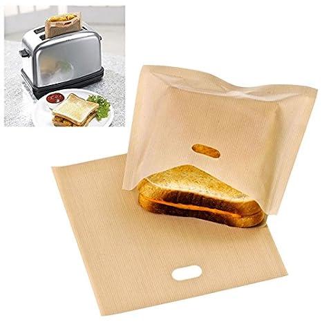 Bluelover Bolsas De Tostadora Reutilizable Bolsa Sandwich ...