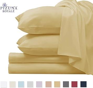 100/% Long Staple Cotton Smooth Satin Pillowcase Off White King Size 100/% Cotton Pillow Cases 800 Thread Count Cotton King Pillowcases Off White Thickly Woven Set of 2 Pillow Covers