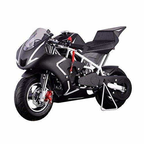 40cc 4 stroke gas powered pocket bike review. Black Bedroom Furniture Sets. Home Design Ideas