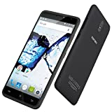 HAFURY UMAX 6.0 inch 3G Phablet Android 7.0 MTK6580 Quad Core 1.3GHz 2GB RAM 16GB ROM 13.0MP Rear Camera 4500mAh Battery Black