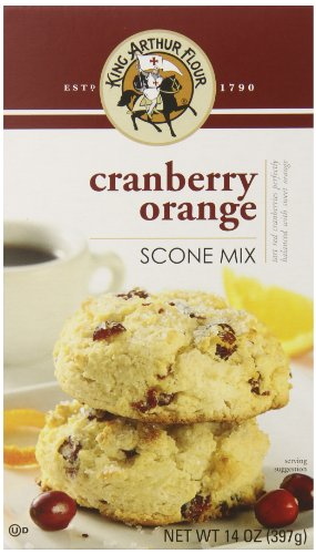 King Arthur Flour Scone Mix, Cranberry Orange, 14 Ounce (Pack of 6) Cranberry Orange Scone Mix