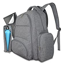 Diaper Bag Backpack for Mom & Dad | Multi-Function Travel Backpack Nappy Bag for Baby Care | Large Capacity | Durable, Stylish Bag with Stain Resistant Changing Pad | by Avion-Gear
