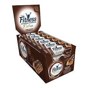 FITNESS Delice Cioccolato Fondente Barretta di Cereali Integrali con Cioccolato Fondente, 24 Pezzi 5 spesavip