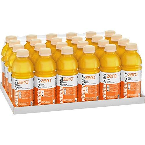 vitaminwater zero rise, electrolyte enhanced water w/ vitamins, orange drinks, 20 fl oz, 24 Pack