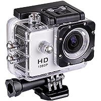 30M Waterproof Sport Action Camera WiFi 1080P Full HD Bicycle Helmet Car White