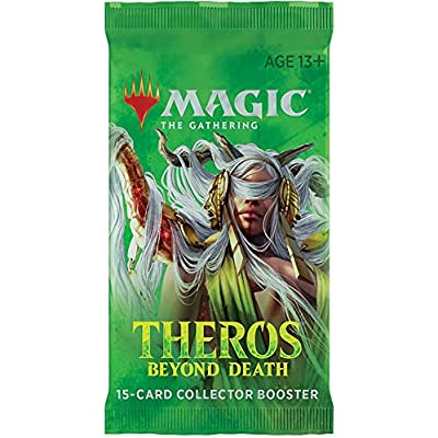 Magic The Gathering CCG: Theros Beyond Death Collector Booster: Toys & Games