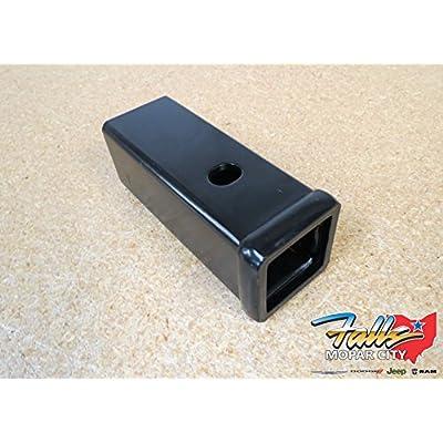 Dodge Ram 2500 3500 2 1/2 to 2 Inch Hitch Receiver Adapter Oem Mopar: Automotive