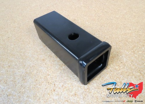 Dodge Ram 2500 3500 2 1/2 to 2 Inch Hitch Receiver Adapter Oem Mopar
