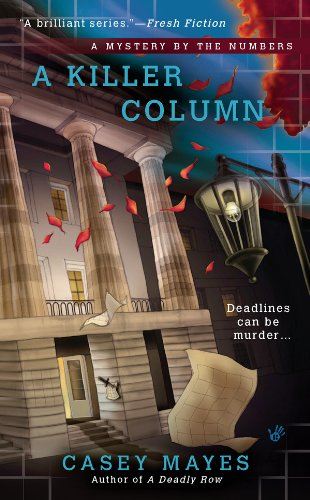 A Killer Column (A Mystery by the Numbers Book 2)