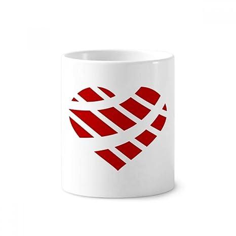DIYthinker Corazón del día de tarjeta roja soporte de ...