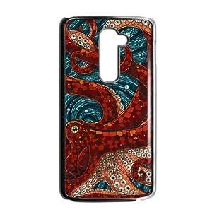 Canting_Good Octopusl Custom Case Shell Skin for LG G2
