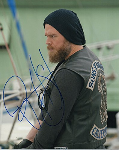 Ryan Hurst autographed 8x10 photograph Harry Opie Winston Sons of Anarchy