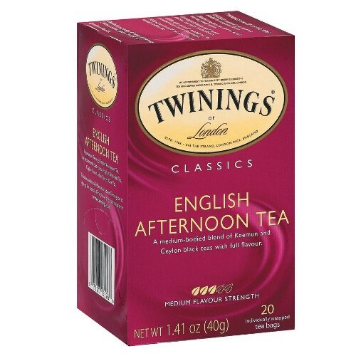 (Twinings Classic English Afternoon Tea, 20 Count )