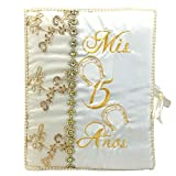 Select Quinceanera Photo Album Guest Book Kneeling Tiara Pillows Bible Q3159 (Guest Book)