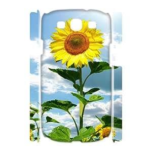 YNFYC Sunflower Shell Phone Case For Samsung Galaxy S3 I9300 [Pattern-1]