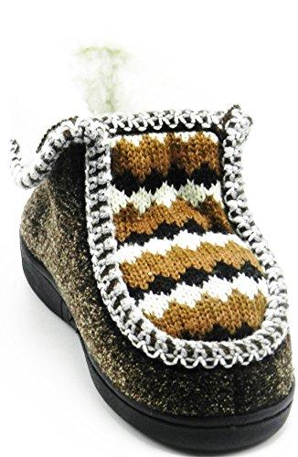 Toddler Baby Winter Fleece Fur Snow Ankle Slip on Soft Slipper Boot Shoes Brown