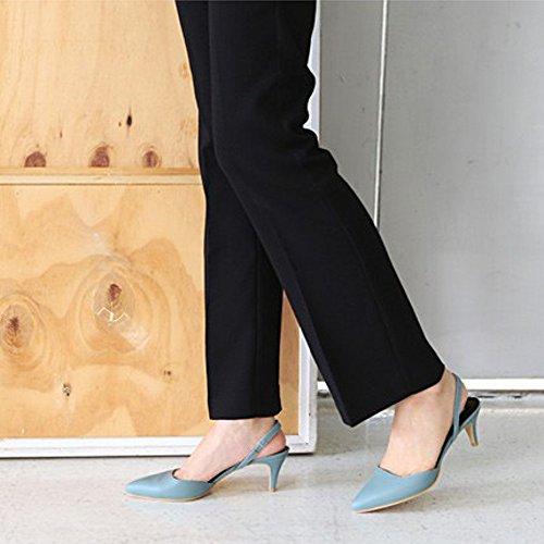 Scarpe Col Tacco Medio Alte In Vera Pelle Karen Bianche Per Donna