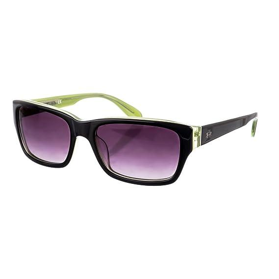 La Martina Gafas de Sol LM-50603 Negro/Verde: Amazon.es ...
