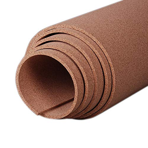 Manton Cork Roll, 100% Natural, 4' x 8' x 3/8