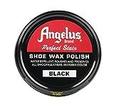 wax shoe polish - Angelus Shoe Wax Polish 3fl Oz ( Color Variety) (Black)