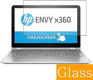 Synvy Tempered Glass Screen Protector for HP Envy x360 15-w100 / w117cl / w103na / w101tx / w102nx / w105wm / w158ca / w104na / w102tx / w110nr 15.6