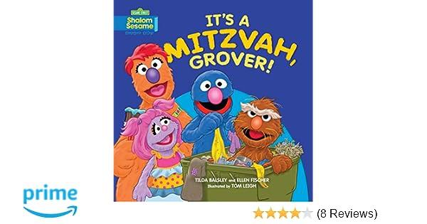 Its A Mitzvah Grover Sesame Street Shalom Sesame Tilda