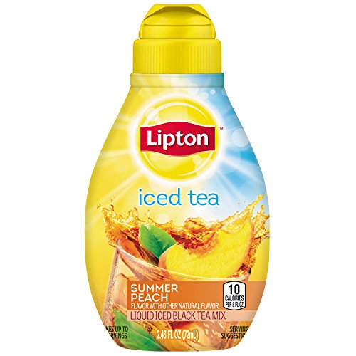 Lipton Liquid Iced Tea Mix, Summer Peach, 2.43 oz ()