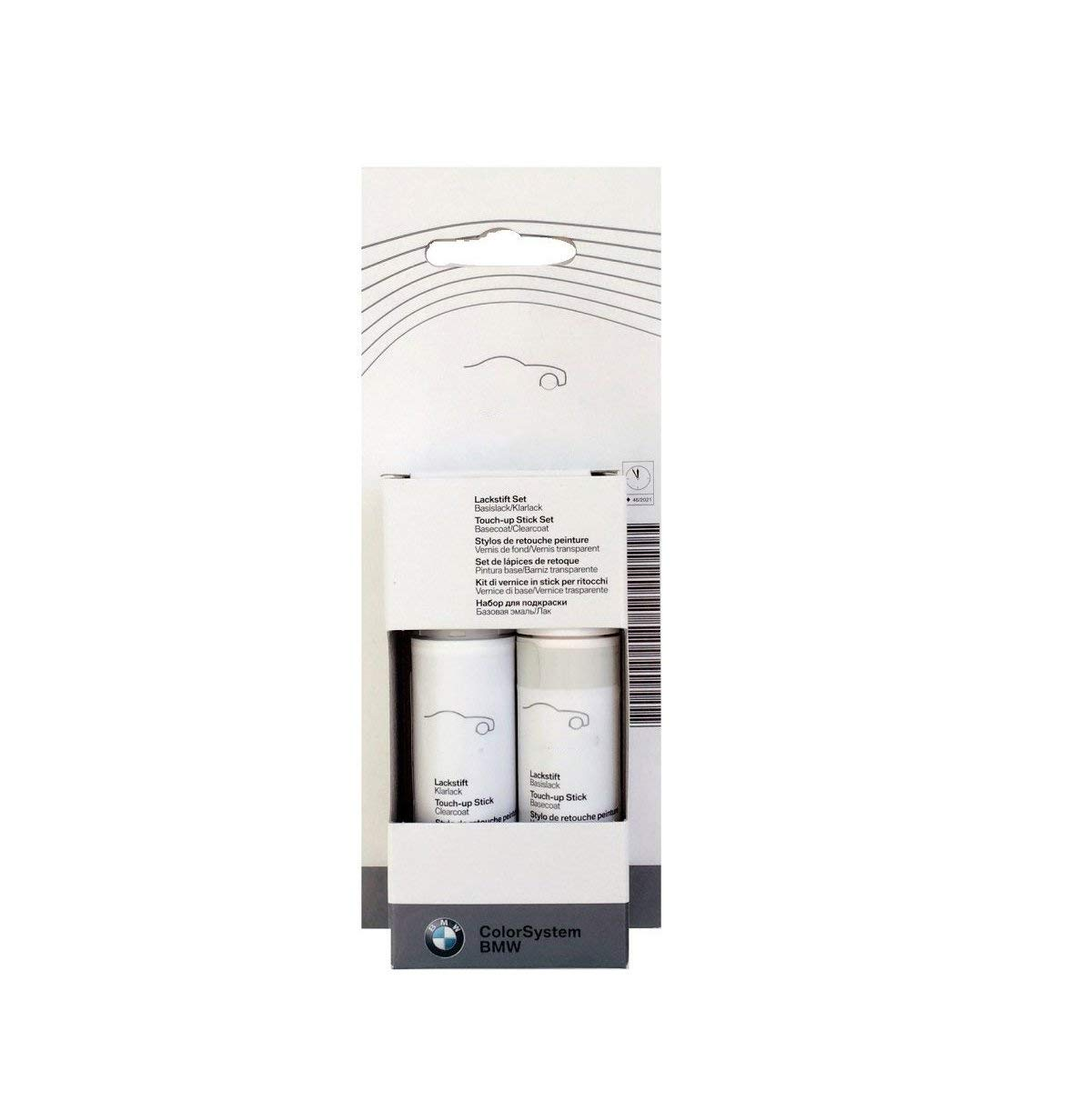 OEM BMW Touch-Up Paint Glacier Silver Metallic А83