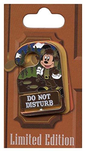 Disney Pin - WDW Resorts - Do Not Disturb - Disney's Wilderness Lodge