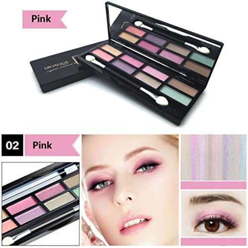 YJYdada 8 Colors Eyeshadow Eye Shadow Cosmetics Palette for