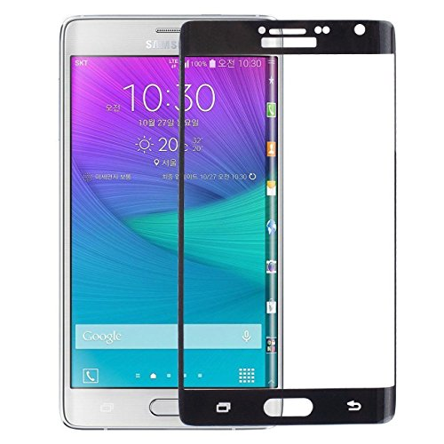 Marval Power Black Full Cover 3D Tempered Glass Screen Protector for Samsung Galaxy Note Edge N9150