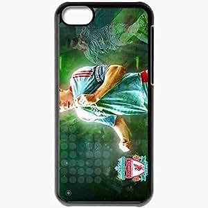 Personalized iPhone 5C Cell phone Case/Cover Skin 8stevengerrard Steven Gerrard Liverpool Football Black