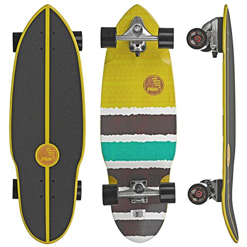 "SLIDE Street Surf Skateboard Maui Wowie 32"""