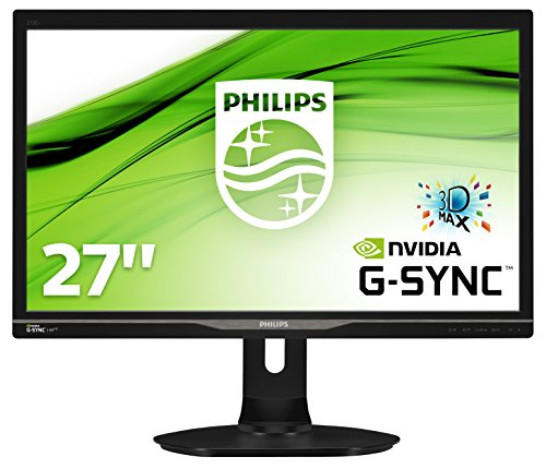 Philips 272G5DYEB/00 Gaming Monitor 68,6 cm (27 Zoll) (1ms Reaktionszeit, 1920 x 1080 Pixel, G-Sync, 144 Hz, 3D) schwarz