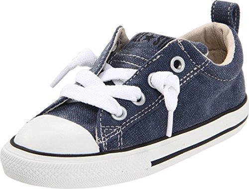 Converse Kids' Chuck Taylor All Star Street Ox (Infant/Toddler) (6 M US Little Kid, Dark Denim) -