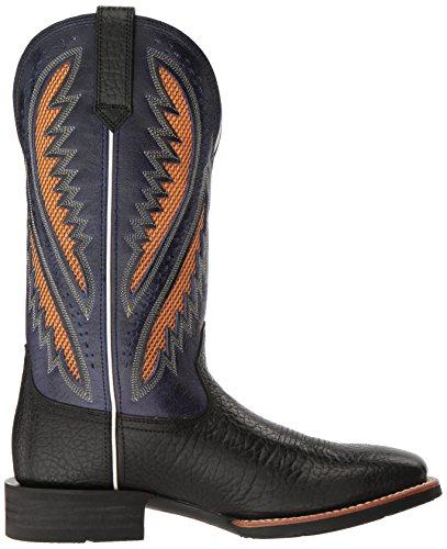 Ariat Mens Quickdraw Venttek Western Cowboylaars, Gingersnap, 8 2e Us Buckboard Zwart