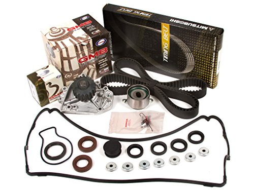 Evergreen TBK184VC2-M Fits Timing Belt Kit, Valve Cover Gasket, and GMB Water Pump: 90-95 Acura Integra GS LS RS Non-Vtec 1.8L B18A1 B18B1 (GMB Water Pump) ()