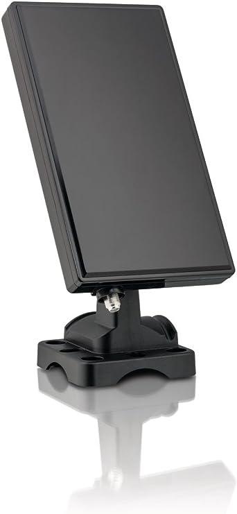 Philips SDV5228/12 - Antena de TV (Obstrucción 75 Ohmio), negro