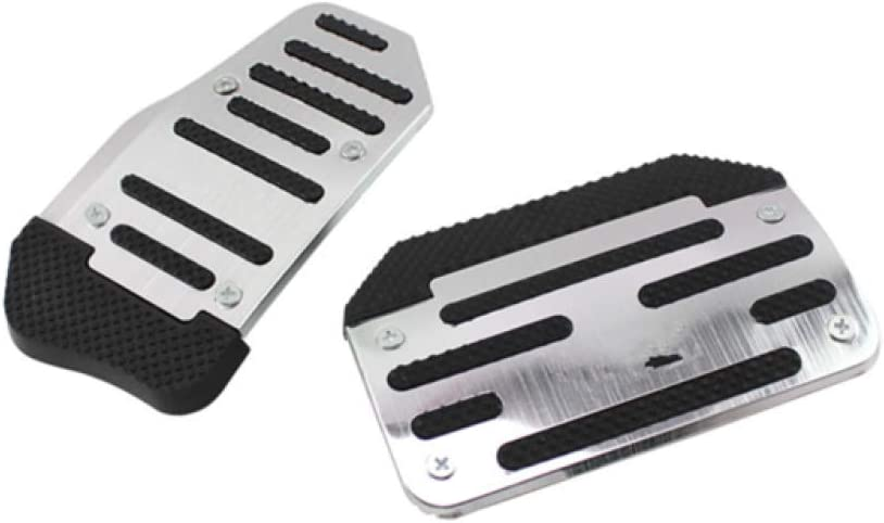 WANWU Gas/&Brake Pedal Accelerator Pad Cover for Range Rover Sport Discovery5 2013-2018
