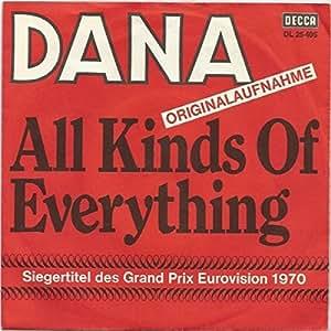 Dana - Dana - All Kinds Of Everything - Decca - DL 25 405 ...
