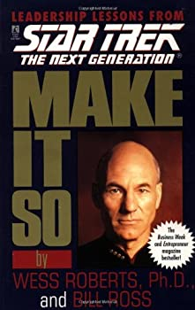 Make It So (Star Trek: The Next Generation) 0671520970 Book Cover